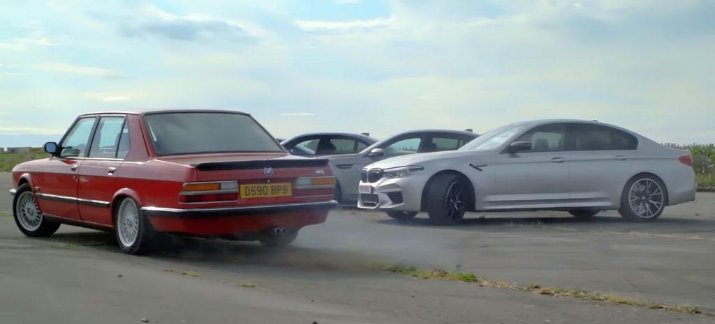 m5 1024x465 Tiff Needell e todas as gerações do BMW M5