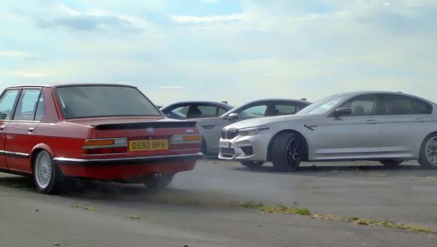 m5 628x356 Tiff Needell e todas as gerações do BMW M5