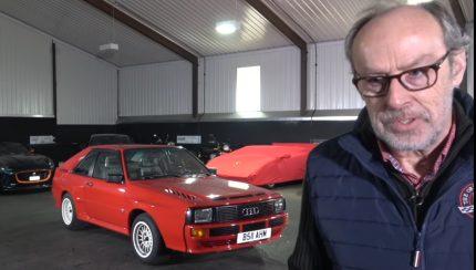 audi 430x244 O incrível Audi Sport Quattro no canal Harry´s Garage