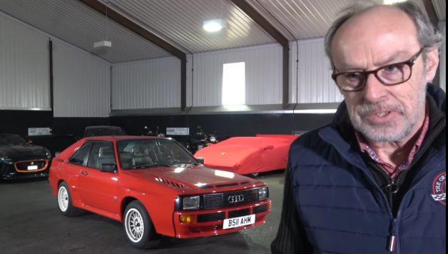 audi 628x356 O incrível Audi Sport Quattro no canal Harry´s Garage