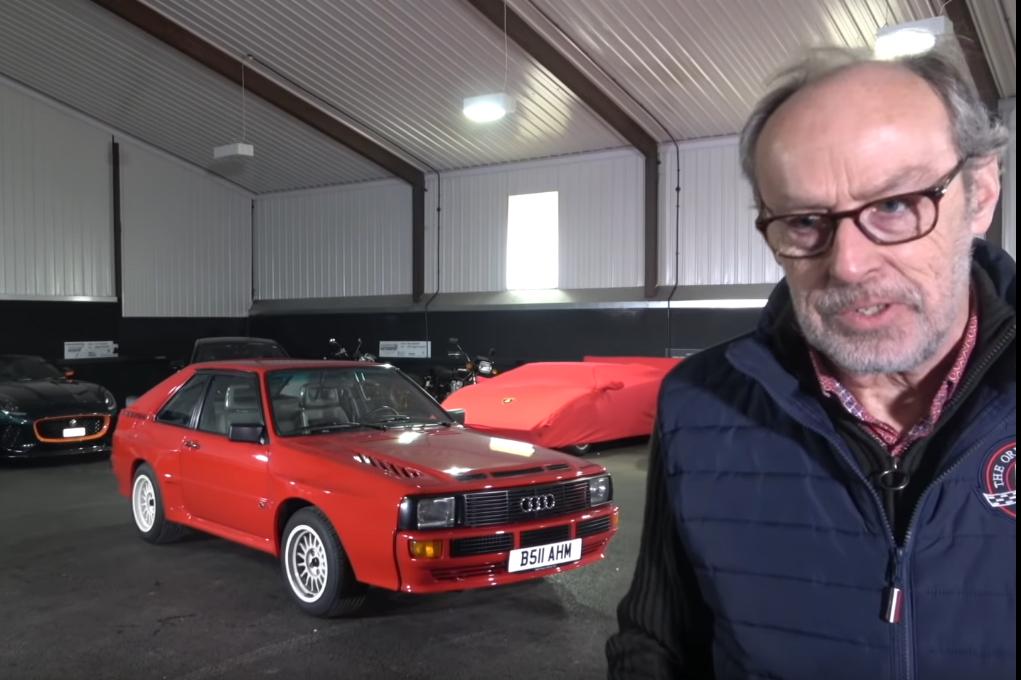 audi O incrível Audi Sport Quattro no canal Harry´s Garage