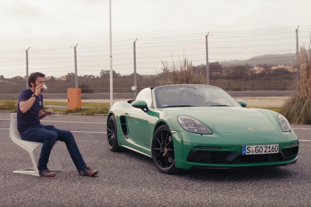 porsche gts Henry Catchpole testa o novo Porsche Boxster GTS 4.0 em Portugal