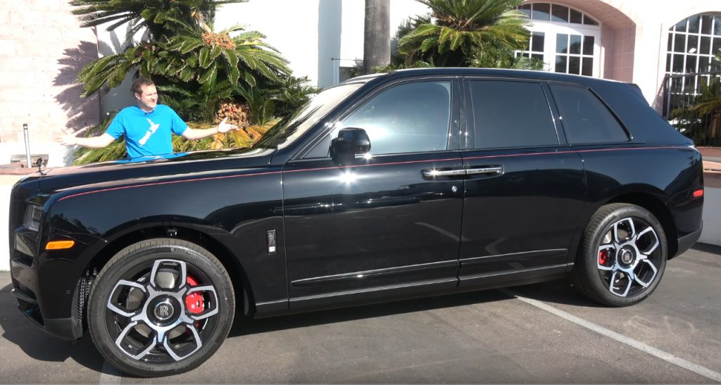 rolls 1024x547 Doug DeMuro apresenta o Rolls Royce Cullinan Black Badge de quase meio milhão de dólares