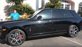rolls 280x161 Doug DeMuro apresenta o Rolls Royce Cullinan Black Badge de quase meio milhão de dólares