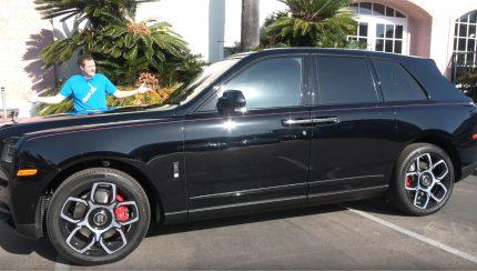 rolls 430x244 Doug DeMuro apresenta o Rolls Royce Cullinan Black Badge de quase meio milhão de dólares