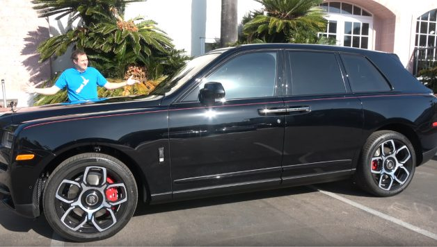 rolls 628x356 Doug DeMuro apresenta o Rolls Royce Cullinan Black Badge de quase meio milhão de dólares