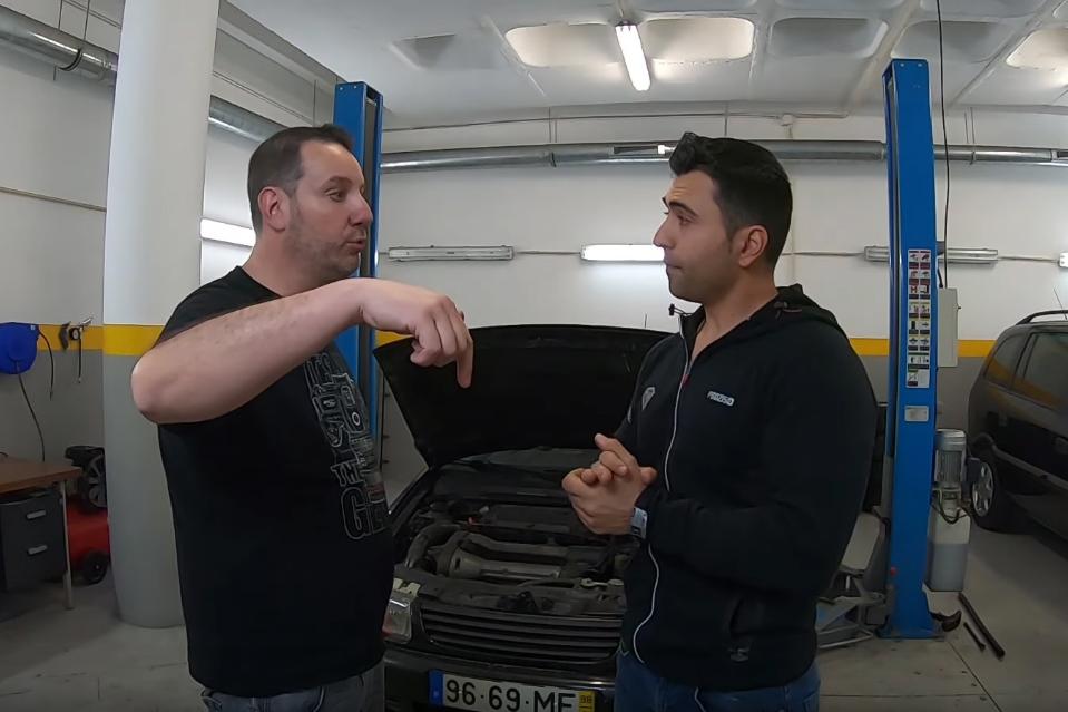 asdsadas Yuri Francês adquire um automóvel de 500€ para ir a Nürburgring