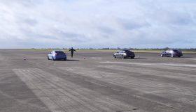 drag 1 280x161 BMW M4 vs AMG C63 S vs Lexus RC F vs BMW M3 E90 vs Mercedes C63 AMG W204   Novos contra os seus antecessores e um Japonês forasteiro