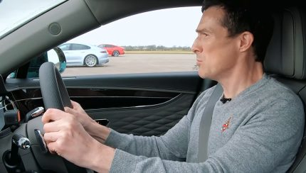 drag 430x244 Bentley Flying Spur vs Audi RS7 vs Porsche Panamera Turbo S – Qual é o mais rápido