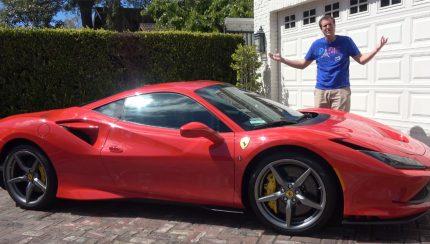 ferrari 430x244 Doug DeMuro – Ensaio ao Ferrari F8 Tributo