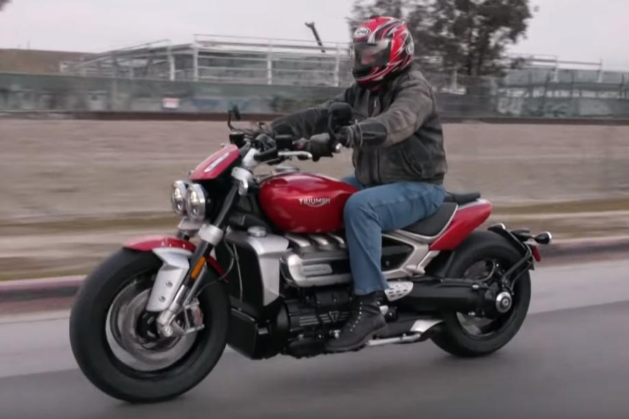 rocket Triumph Rocket 3 – Uma moto com motor de 2.5 litros de capacidade