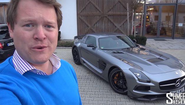 shmee150 628x356 Shmee150 e a sua nova aquisição – Um Mercedes SLS AMG Black Series
