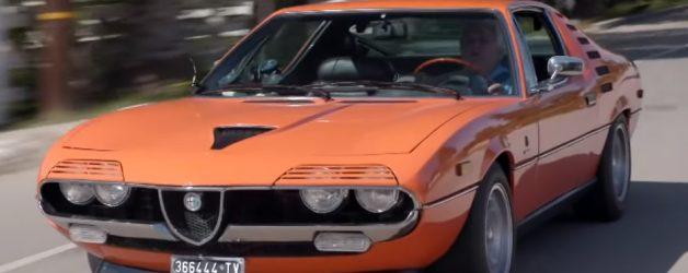alfa romeo montreal 628x250 Jay Leno´s Garage – O incrível Alfa Romeo Montreal