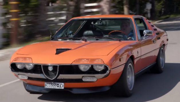 alfa romeo montreal 628x356 Jay Leno´s Garage – O incrível Alfa Romeo Montreal
