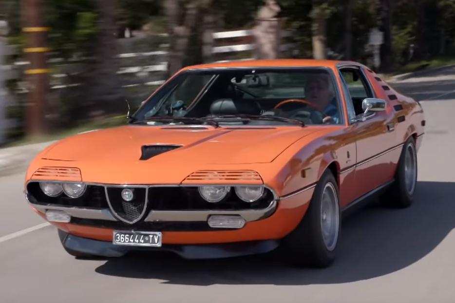 alfa romeo montreal Jay Leno´s Garage – O incrível Alfa Romeo Montreal