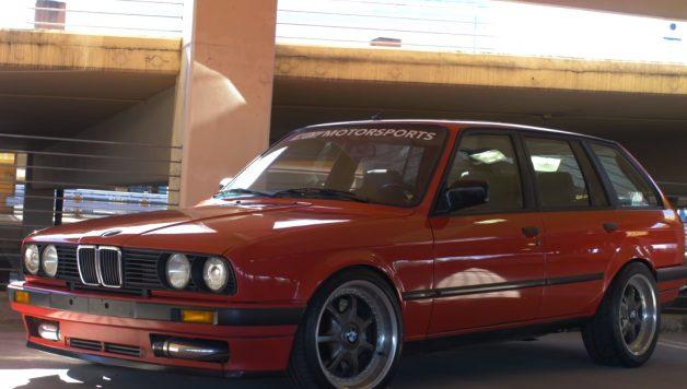e30 turbo 628x356 BMW E30 Touring – Motor de um Toyota Supra com 500 cavalos de potência