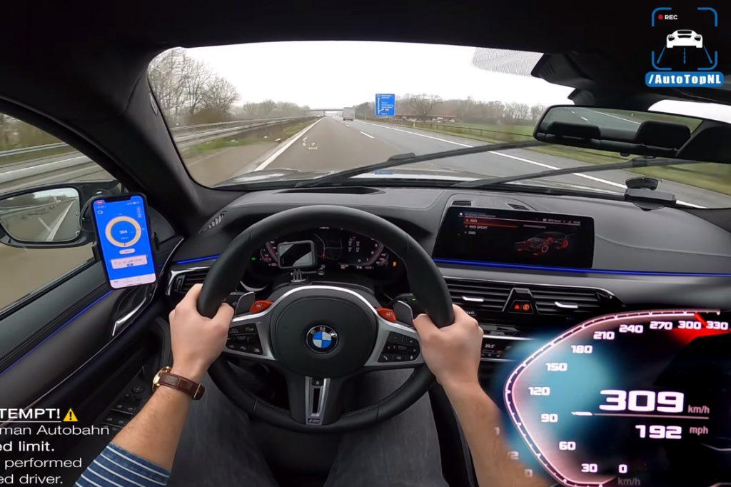 m5 1024x682 BMW M5 F90 Competition a fundo numa Autobahn