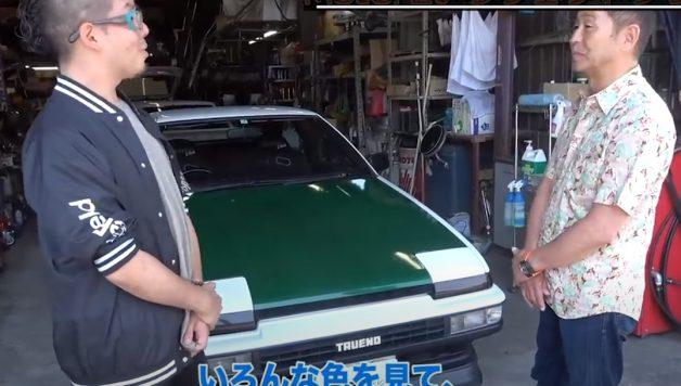 dk 628x356 Conhecer o Drift King Keiichi Tsuchiya e o seu Toyota Sprinter Trueno