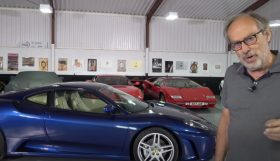f430 280x161 Ferrari F430 Manual em teste no canal Harry´s Garage