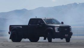 ford 280x161 Ken Block mais uma Pick UP de 3,6 toneladas igual a muito pneu derretido