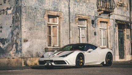 106173431 1447535408763307 6931803235882369744 o 430x244 Ferrari 458 Speciale – Emoções especiais num modelo em constante valorização