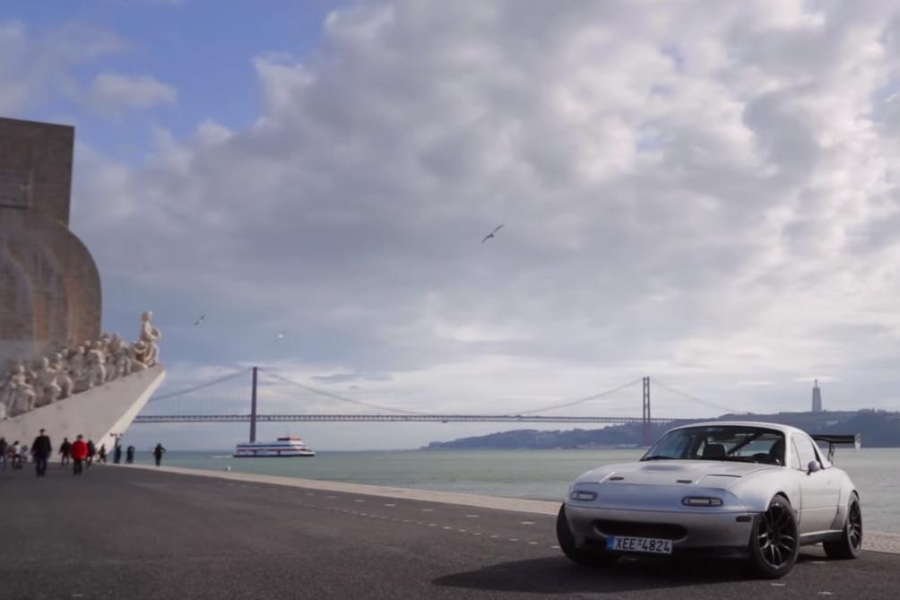 mx5 Um Mazda MX 5 V6 numa aventura pelo Circuito do Estoril