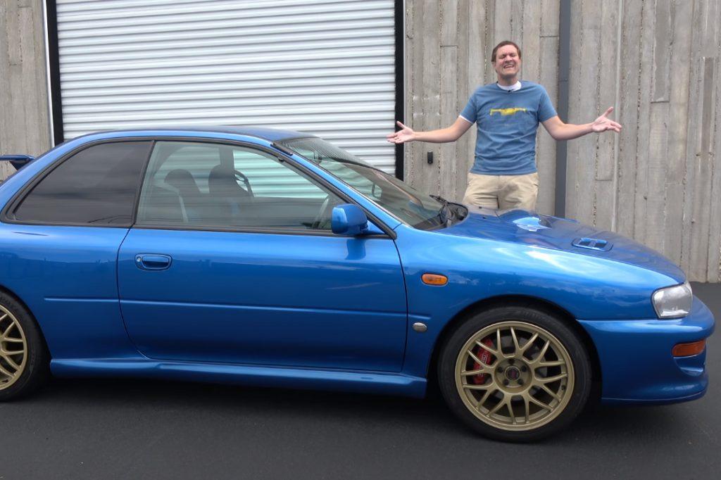 22b 1024x682 Doug DeMuro ensaia o lendário Subaru Impreza 22B