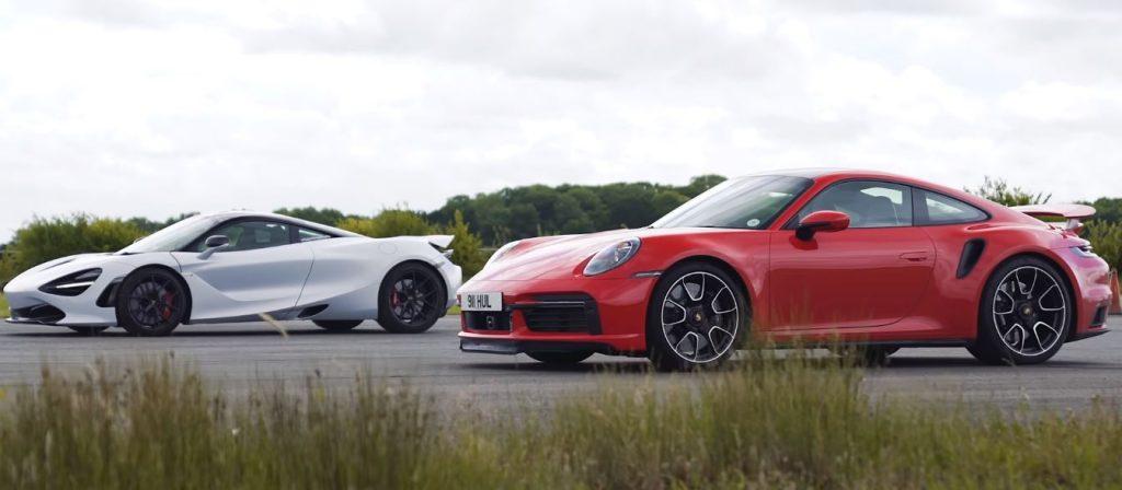 911720s 1024x448 O novo Porsche Turbo S enfrenta o McLaren 720s