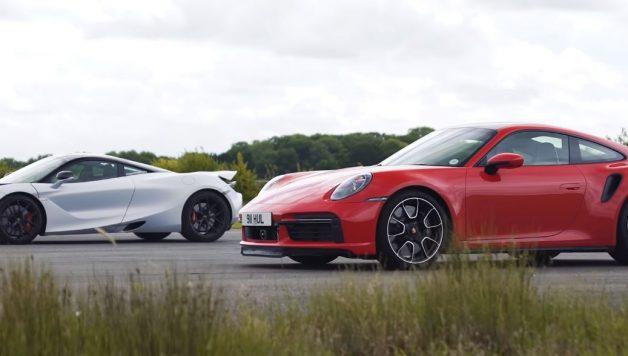 911720s 628x356 O novo Porsche Turbo S enfrenta o McLaren 720s