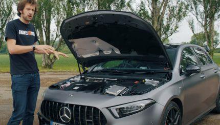 a45s 430x244 Mercedes AMG A45 S em destaque no canal Carfection