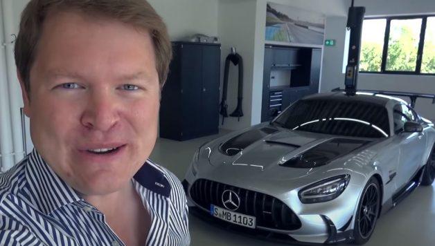 amg gtr bs 628x356 Mercedes AMG GT Black Series   Shmee150 explora a mais recente bomba