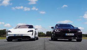 bmw m8 taycan 280x161 Porsche Taycan Turbo S arrasa BMW M8 em aceleração