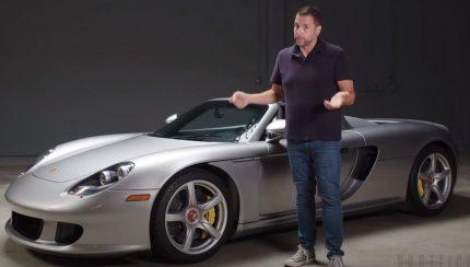cgt 430x244 Jason Cammisa disseca a história do Porsche Carrera GT