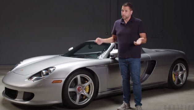 cgt 628x356 Jason Cammisa disseca a história do Porsche Carrera GT