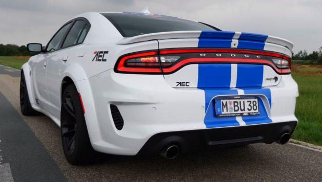 dodge 628x356 Dodge Charger Hellcat sem limites numa Autobahn