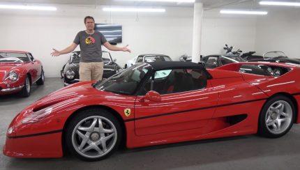 f50 430x244 Doug DeMuro explora ao pormenor o Ferrari F50