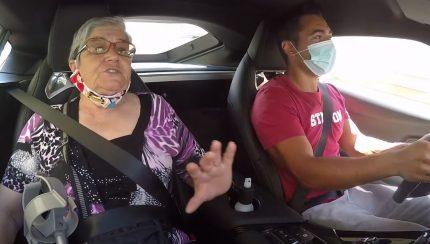 supra1 430x244 Yuri Francês leva a Avó a passear no novo Toyota Supra