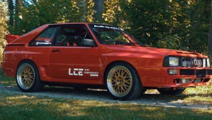 audi 430x244 Cars with Luke   Audi Quattro com 700 cavalos em ensaio