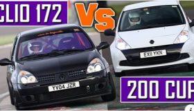 clios2 280x161 Camber and Combustion   Eles estão de volta e desta vez o confronto é entre dois Clio RS