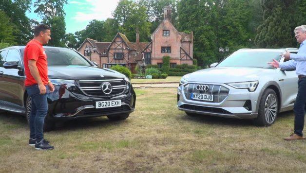 lovecars 628x356 Lovecars   Mercedes Benz EQC e Audi e Tron em confronto 100% eléctrico