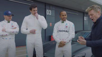 merc 430x244 Lewis Hamilton e Valtteri Bottas numa corrida contra o patrão Toto Wolff