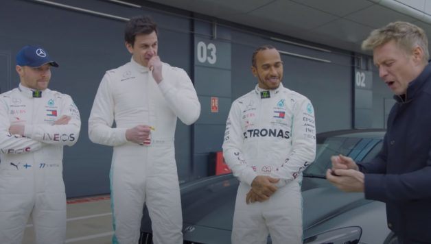 merc 628x356 Lewis Hamilton e Valtteri Bottas numa corrida contra o patrão Toto Wolff