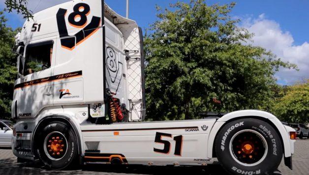 scania 628x356 Sobre Rodas PT   Um Scania V8 para marcar a diferença