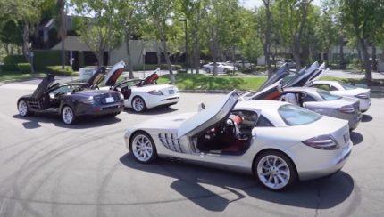 slr 430x244 Manny Khoshbin   Os seus 5 Mercedes McLaren SLR