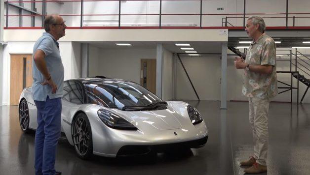t.50 628x356 Gordon Murray apresenta o seu supercarro T.50   O sucessor do McLaren F1?