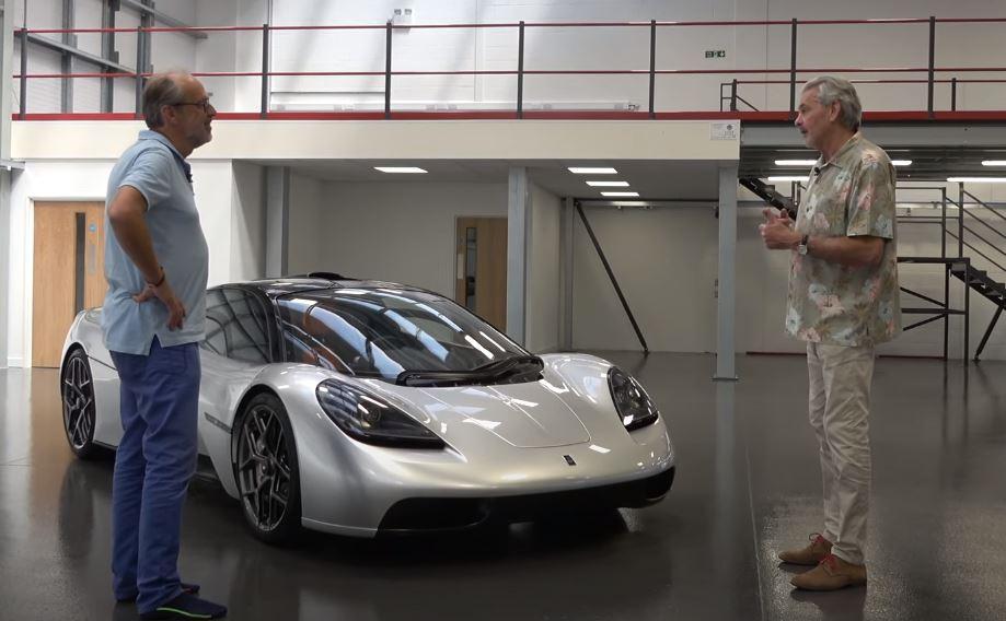 t.50 Gordon Murray apresenta o seu supercarro T.50   O sucessor do McLaren F1?