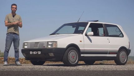 uno 430x244 CarOnlineTV   Ensaio ao Fiat Uno Turbo i.e. da primeira geração