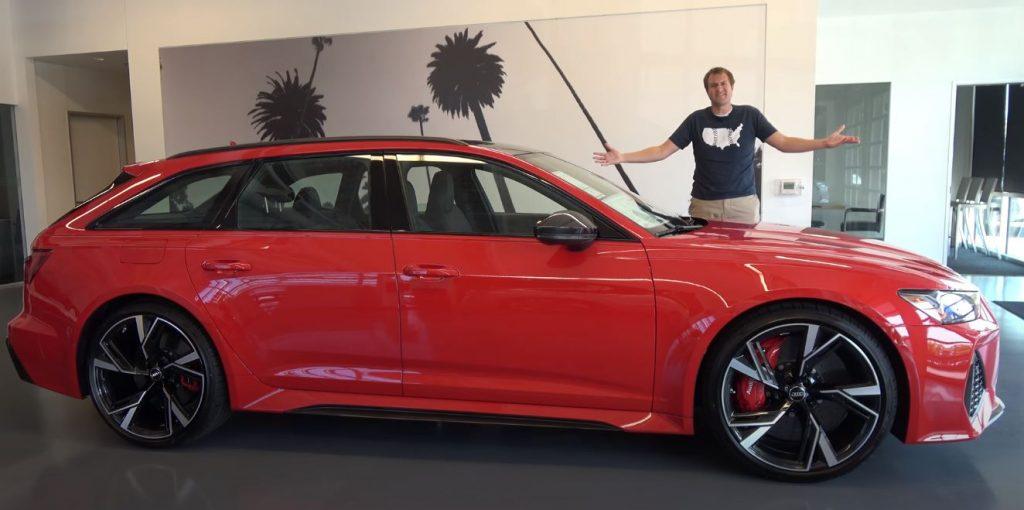 Capturar 2 1024x510 Doug DeMuro   A primeira Audi RS6 Avant oficialmente comercializada nos EUA