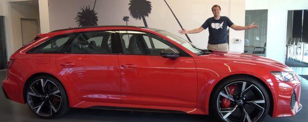 Capturar 2 628x250 Doug DeMuro   A primeira Audi RS6 Avant oficialmente comercializada nos EUA