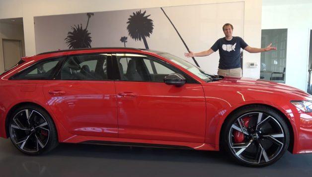 Capturar 2 628x356 Doug DeMuro   A primeira Audi RS6 Avant oficialmente comercializada nos EUA